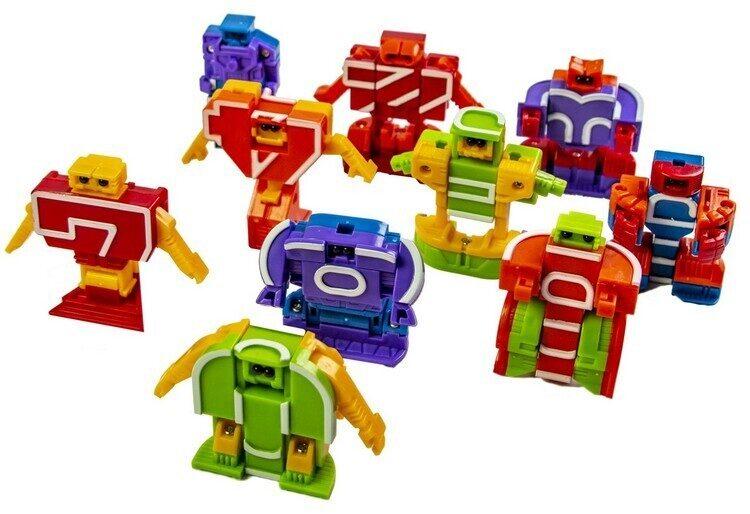 Игровой набор 10 в 1 Transform Numbers Цифровые Трансформеры (4)