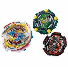 Набор из 3-х Волчков Beyblade Burst «Темпест Драгон Трипл Бустер» (Tempest Dragon Charge Metal 1A) B-171 от Flame
