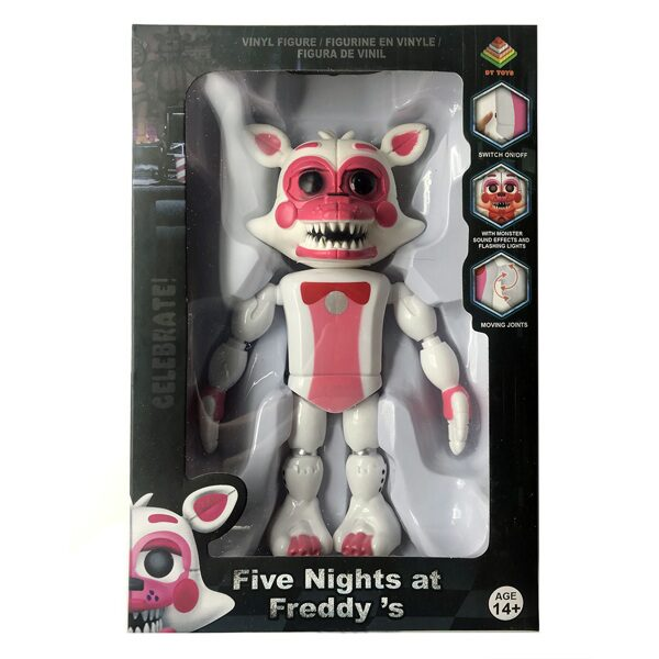Фигурка Five Nights at Freddy's «Фантайм Фокси» (Funtime Foxy) 19см