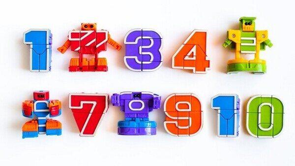 Игровой набор 10 в 1 Transform Numbers Цифровые Трансформеры (2)